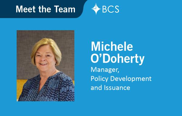 Meet the Team Michele O'Doherty