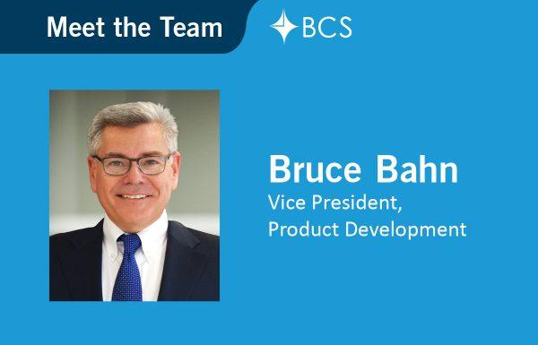 Meet the Team Bruce Bahn