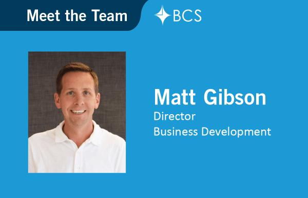 Meet the Team Matt Gibson