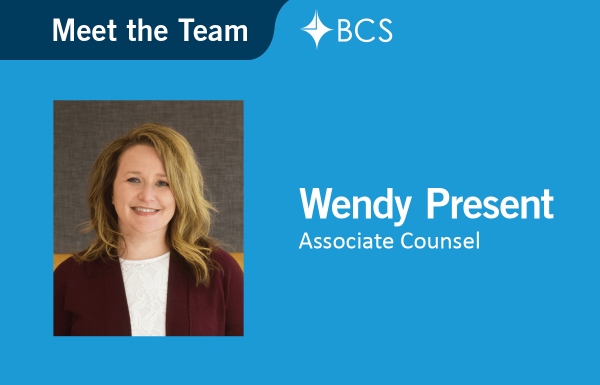 Meet the Team - Legal - Wendy Present