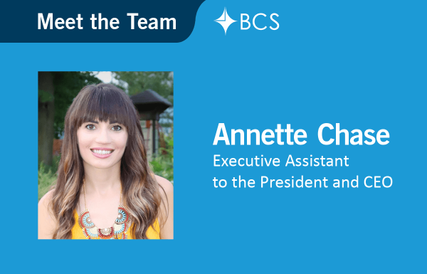 Meet the Team - Executive Assistant - Annette Chase