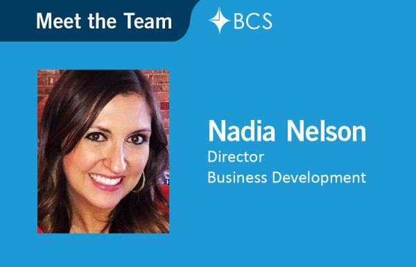 Meet the team - Nadia Nelson - Director Business Development