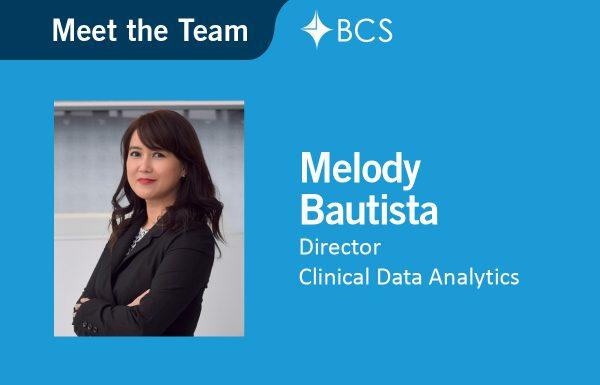 Melody Bautista, Director Clinical Data Analytics