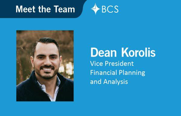 Dean Korolis - Vice President - Financial Planning and Analysis