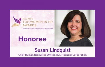 Chief Human Resource Officer Susan Lindquist Named Top Women in HR 2020