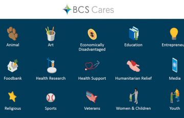 BCS Employees Give More than $6,000 to Charity