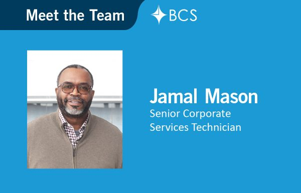 Jamal Mason - Senior Corporate Services Technician